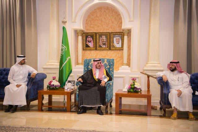 أمير منطقة الجوف يلتقي رئيس وأعضاء رابطة سدر الجوف التطوعية