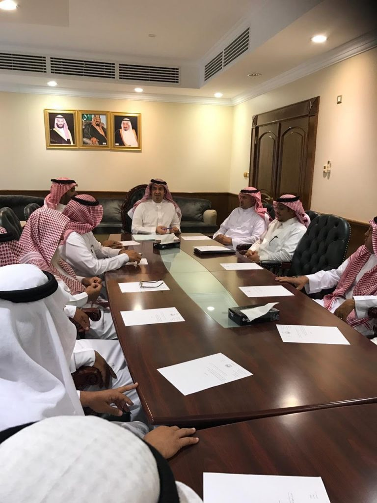 محافظ ضباء يرأس اجتماع المجلس المحلي بالمحافظة