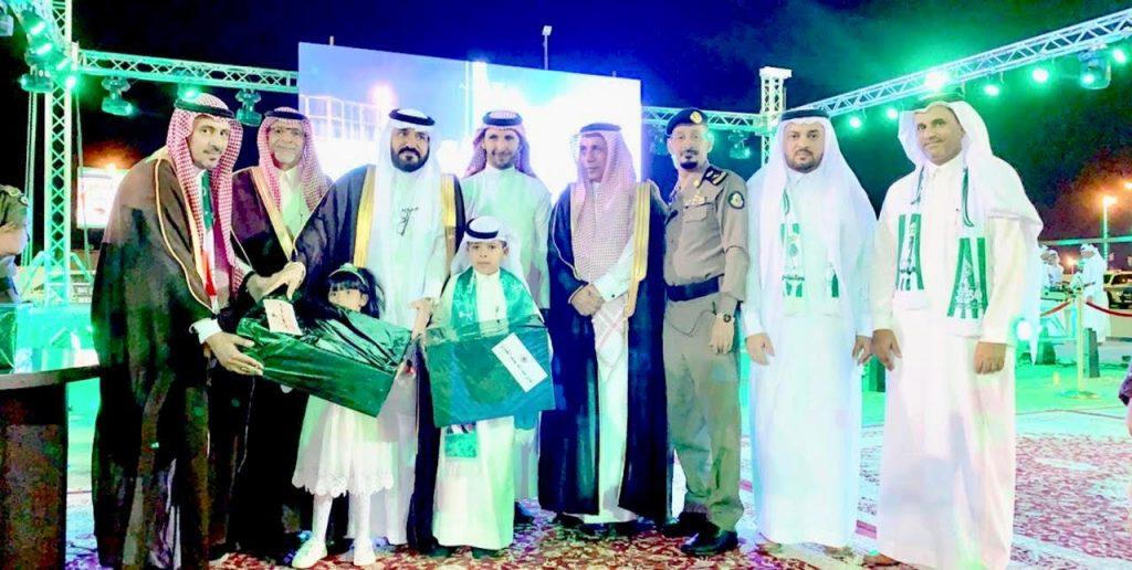 أهالي محافظة العقيق يحتفلون بمناسبة اليوم الوطني الـ 89