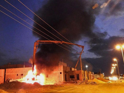 وفاة سائق «مُعِدّة صب خرسانة» بعد تعرضه لصعق كهربائي في حائل