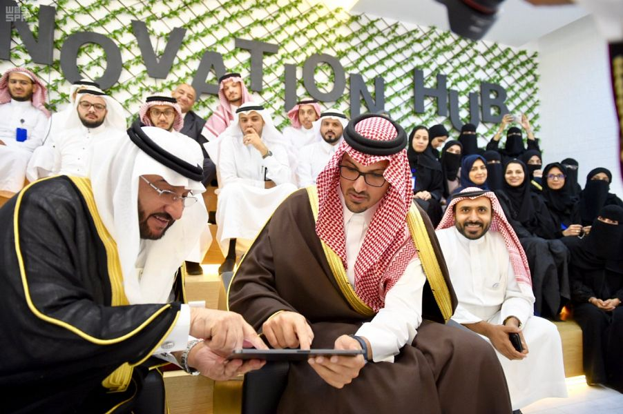 الأمير سعود بن خالد الفيصل يُدشن عدداً من مشاريع التحول الرقمي لجامعة طيبة