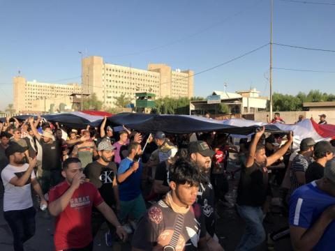 إيران ترى مظاهرات العراق «مؤامرة» لتقويض العلاقة بين البلدين