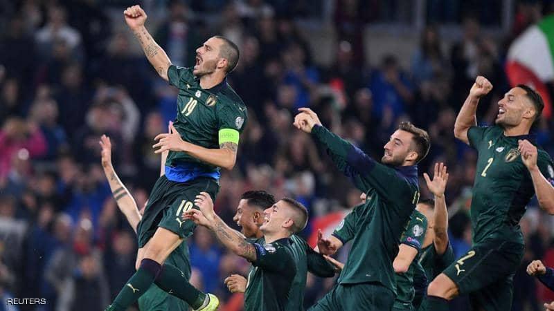 إيطاليا تحجز بطاقة التأهل لنهائيات كأس أوروبا