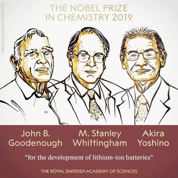 أمريكي وإنجليزي وياباني يحصدون «نوبل للكيمياء»
