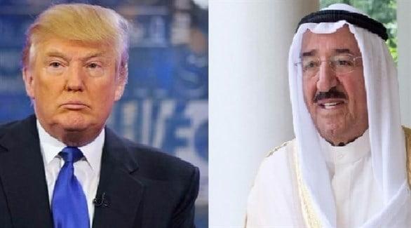 أمير دولة الكويت يتلقى اتصالًا هاتفيًا من الرئيس الأمريكي