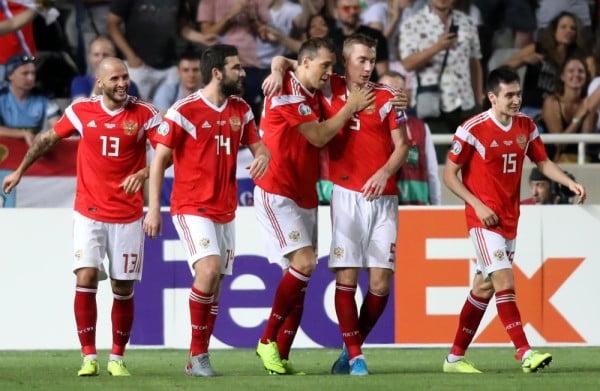 بفوز روسيا على قبرص.. ارتفاع عدد المنتخبات المتأهلة إلى نهائيات كأس أوروبا إلى 3