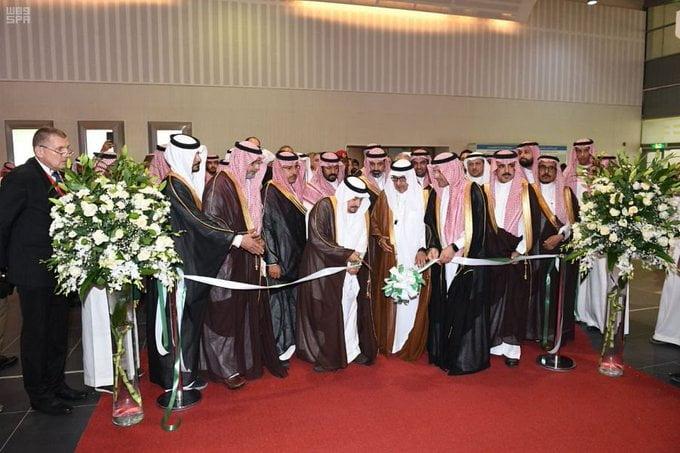 أمير الرياض يرعى انطلاق معرض البناء السعودي 2019