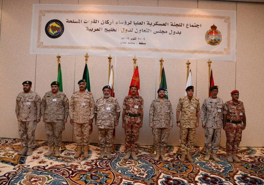 بدء أعمال اجتماع اللجنة العسكرية العليا لرؤساء أركان القوات المسلحة بدول مجلس التعاون في مسقط