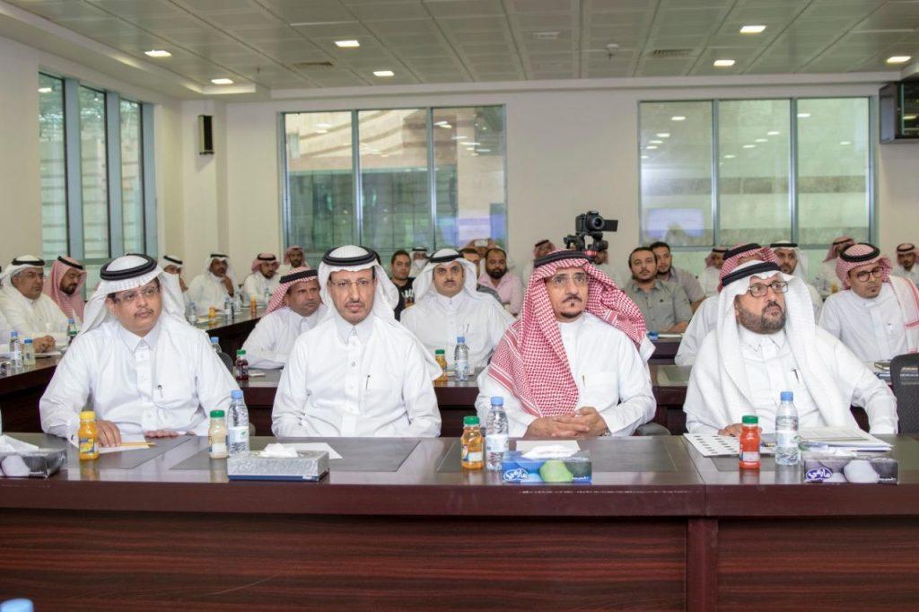 """بحضور معالي مدير جامعة الباحة.. برنامج يسر يقدم ورشة عمل عن """" البنية المؤسسية"""""""