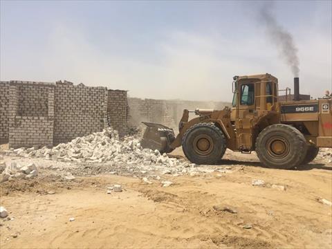 إزالة 800 ألف متر مربع تعديات على أراضي حكومية في مكة المكرمة