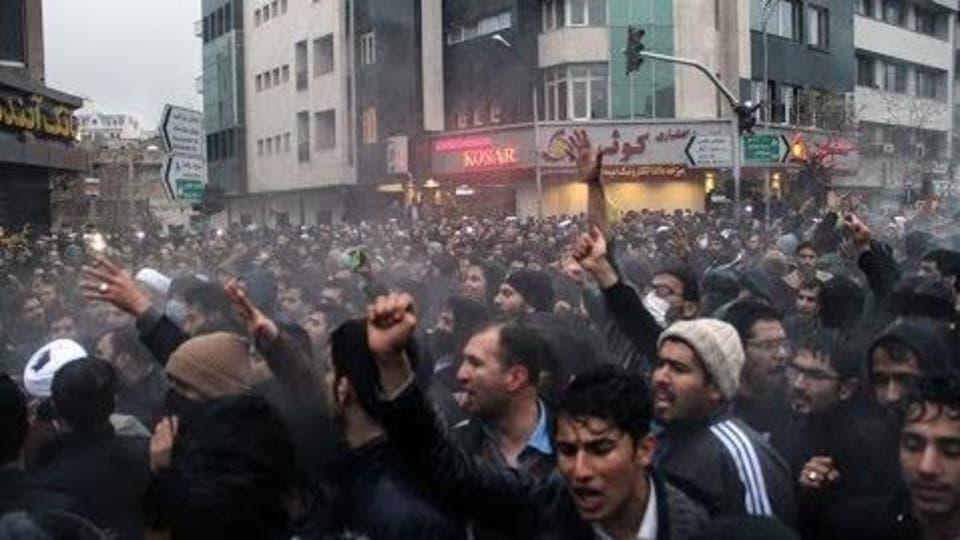 تنديد أمريكي باستخدام إيران للقوة الفتاكة ضد المتظاهرين السلميين