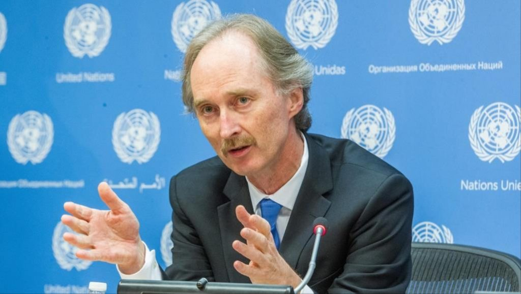 المبعوث الأممي لسوريا يختتم الجولة الأولى من المحادثات حول مستقبل سوريا السياسي