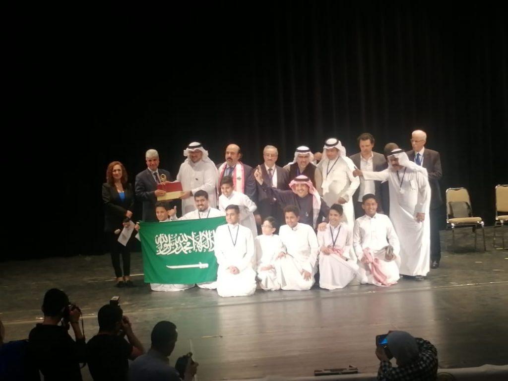 وزارة التعليم تحقق الجائزة الكبرى لأفضل عرض مسرحي في مهرجان الطفل العربي بالأردن