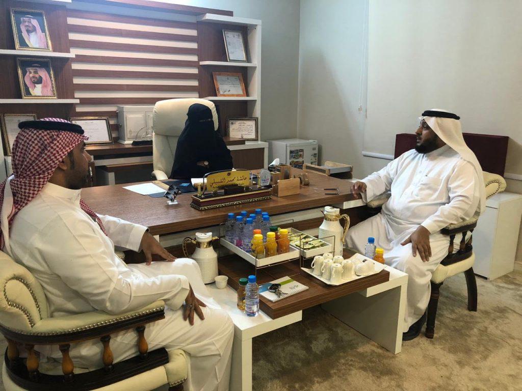 هيئة المدن تزور جمعية الانامل المبدعة للحرف والمهن بجازان