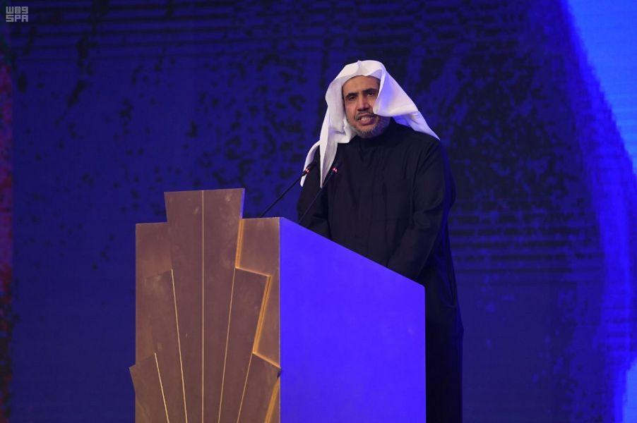 الأمين العام لرابطة العالم الإسلامي: للإعلام دور في إيضاح الصورة الحقيقية للإسلام والتصدي للأساليب المشوهة