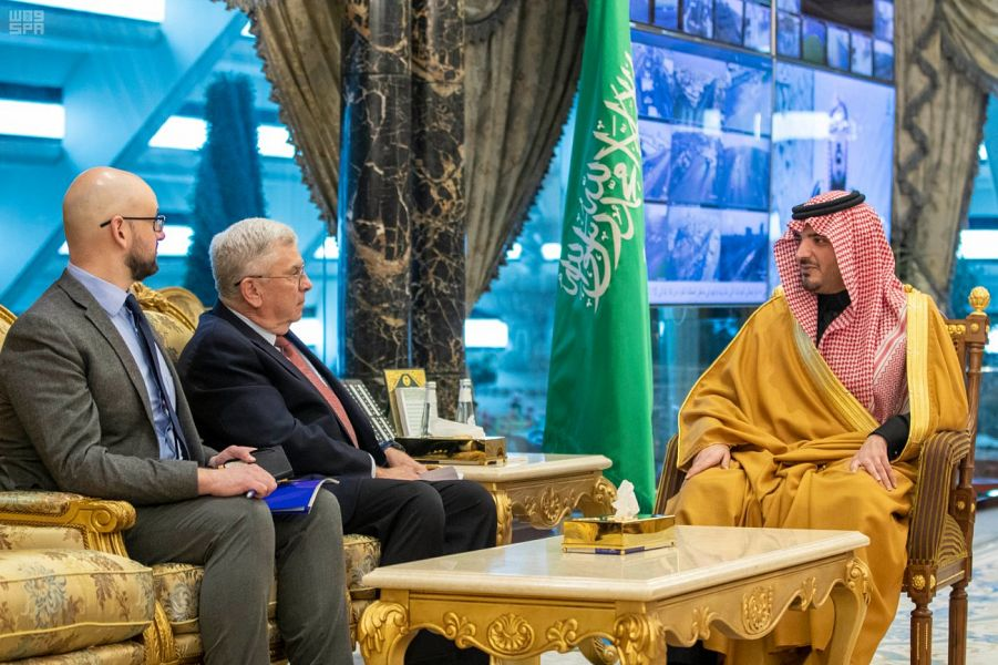 وزير الداخلية يستقبل سفير الولايات المتحدة الأمريكية لدى المملكة