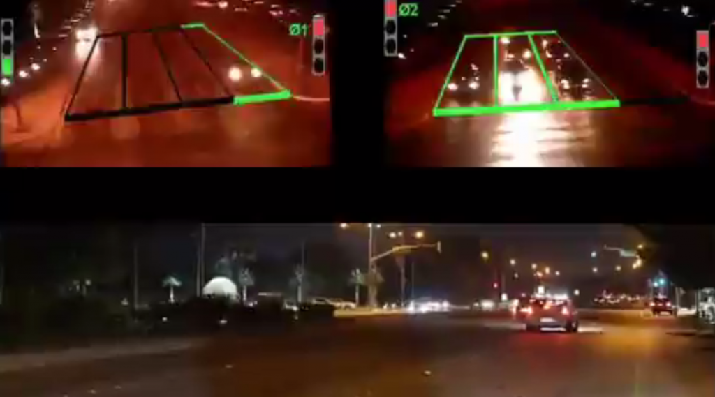 سيارت الإسعاف تتحكم في الإشارات المرورية بمدينة الجبيل الصناعية !