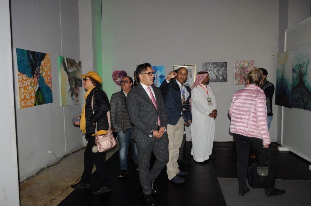 انطلاق معرض أغادير  بمشاركة سعودية فنية