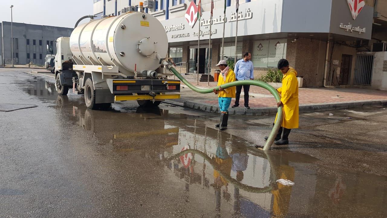 بلدية الجبيل تسحب أكثر من 225 ألف متر مكعب من مياه الأمطار ...