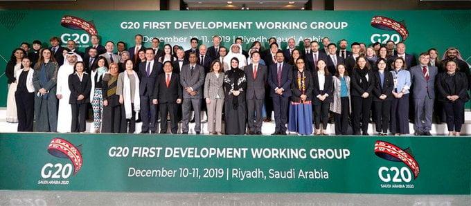 انعقاد الاجتماع الأول لمجموعة عمل التنمية لمجموعة العشرين