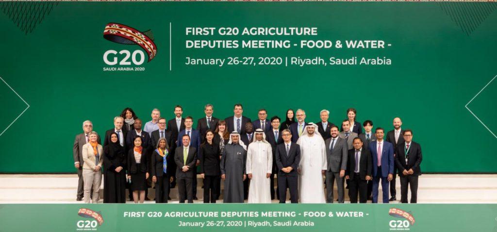 تحديات الأمن الغذائي وإدارة المياه على طاولة وكلاء الزراعة والمياه بمجموعة العشرين