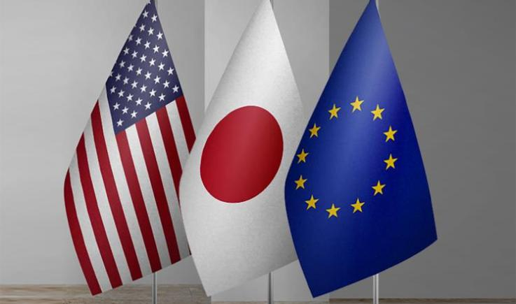 اتفاق بين الاتحاد الأوروبي وأمريكا واليابان على طرق جديدة لتعزيز القواعد العالمية بشأن الإعانات الصناعية