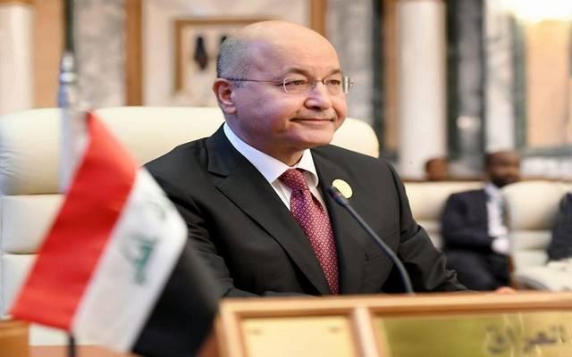 الرئيس العراقي يندد بمحاولة اقتحام السفارة الأمريكية