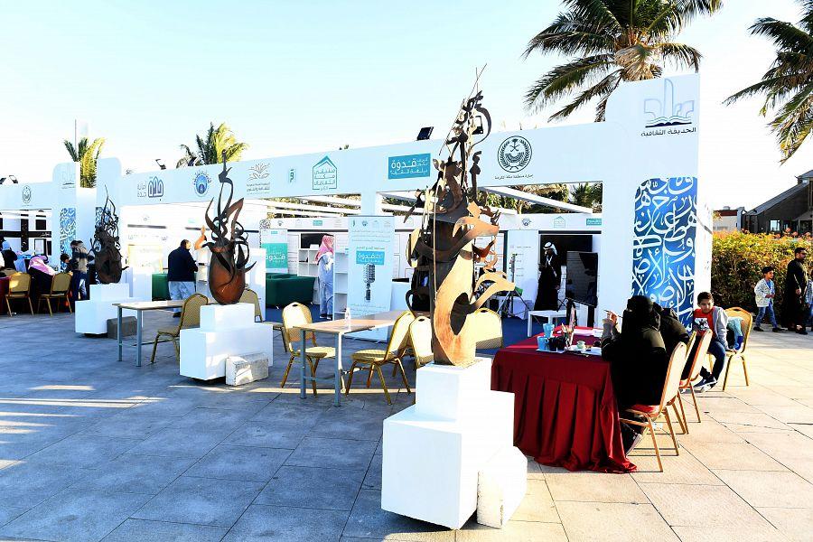 جمعية الثقافة والفنون تشارك بـ20 خطاطا وخطاطة في الحديقة الثقافية