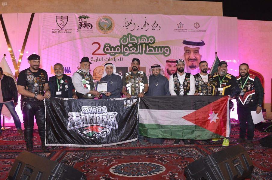 1500 دراج و 120 فريقاً في أكبر مسيرة بمحافظة القطيف