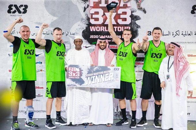 الرياض وجدة تستضيفان نهائيات الجولة العالمية 3×3 لكرة السلة