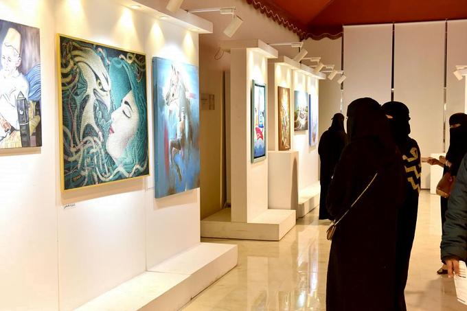 جمعية الثقافة والفنون بالرياض تستضيف معرض(شتاء جازان 2)