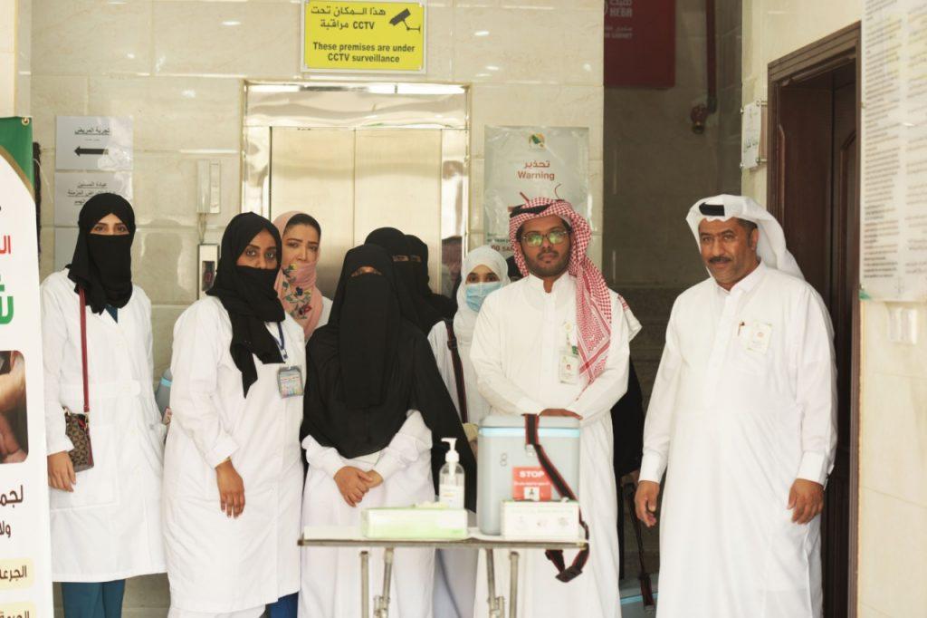 مستشفى شرق جدة والمراكز التابعة له ينفذ الجرعة الثانية من الحملة الوطنية لشلل الأطفال والدعوة للجميع بالمشاركة في الحملة