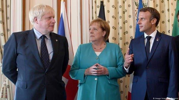 فرنسا وألمانيا وبريطانيا يؤكدون تفعيل آلية فض النزاع مع إيران