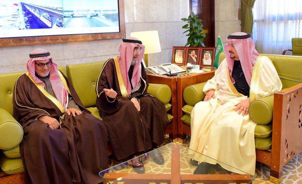 أمير منطقة الرياض يستقبل الأمين العام للندوة العالمية للشباب الإسلامي