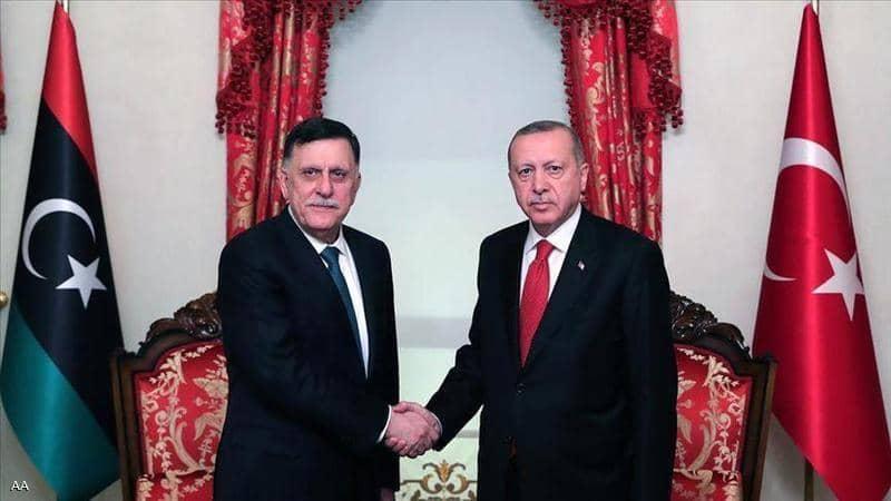 """أردوغان يكشف أطماعه: هدفنا """"السيطرة الكاملة"""" على ليبيا"""