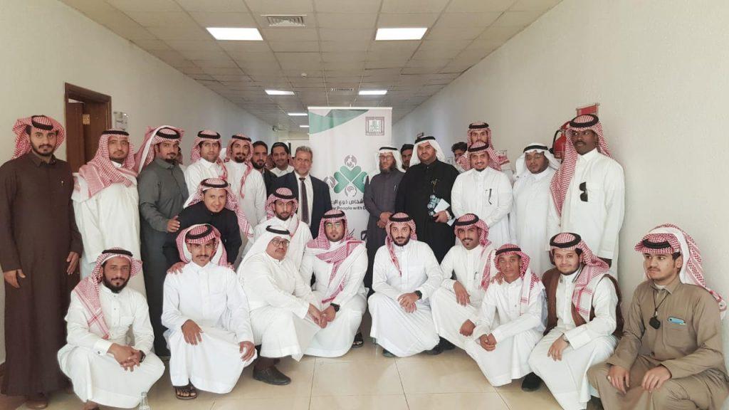 جامعة الملك خالد تحتفل بالطلاب المستجدين من ذوي الإعاقة السمعية