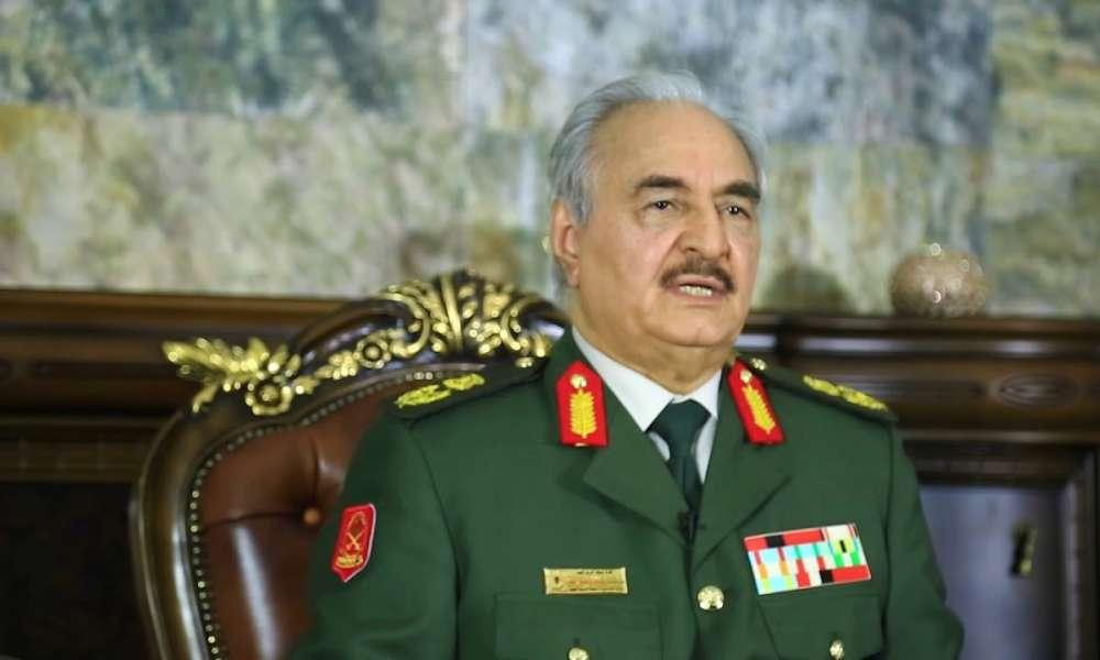 حفتر: وقف إطلاق النار في ليبيا سيتوقف على الانسحاب التركي