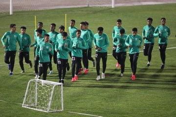 المنتخب السعودي تحت 19 عامًا لكرة القدم يواصل تدريباته تحضيرًا لكأس العرب