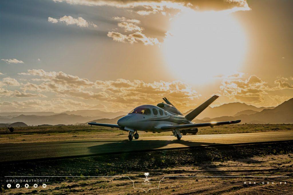انطلاق فعالية نادي المدينة المنورة للطيران الرياضي الخميس