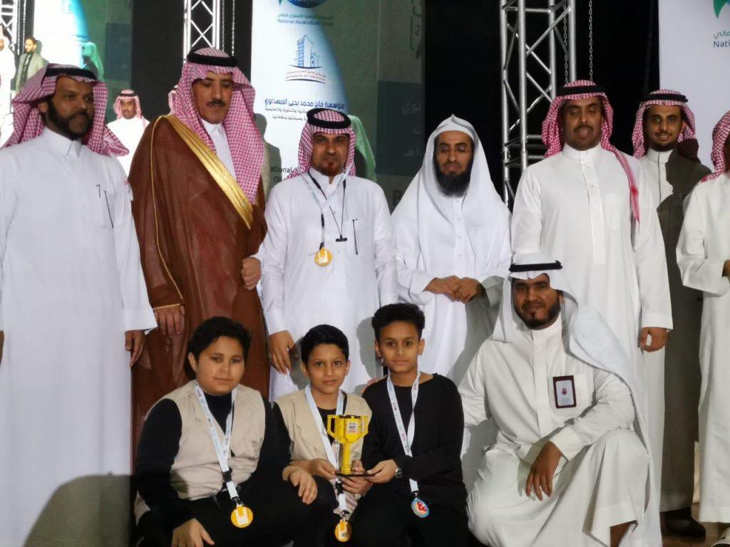 تعليم جازان يحقق المركز الأول لجائزة الاستراتيجية والإبداع في الأولمبياد الوطني للروبوت