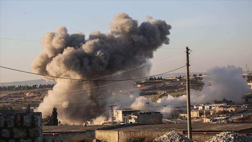 إدلب: نزوح أكثر من 100 ألف شخص خلال اليومين الماضيين جراء عمليات النظام العسكرية