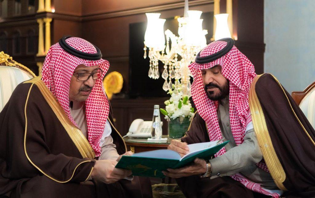 أمير منطقة الباحة يطلع على مراحل تأسيس ميدان الفروسية في محافظة العقيق