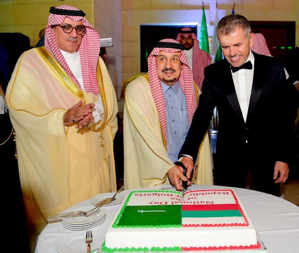 أمير منطقة الرياض يشرف حفل سفارة جمهورية بلغاريا لدى المملكة
