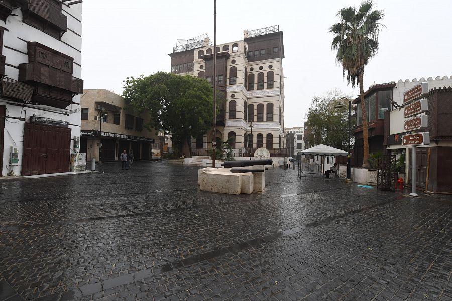 أمطار على محافظة جدة