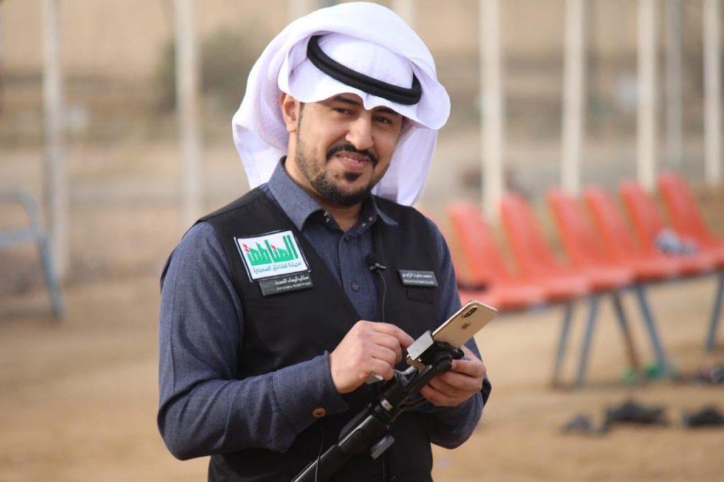 الزميل محمد العنزي يرزق بمولوده الأول