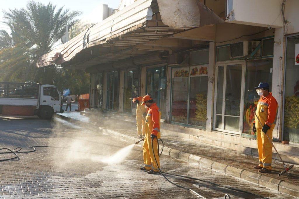 بلدية ضباء تنفذ حملة لتعقيم المرافق العامة بالمحافظة