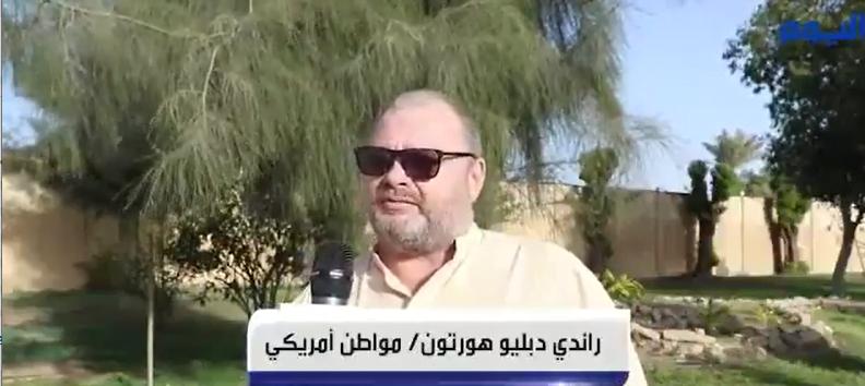 شاهد..مقيم أمريكي يعيش في السعودية يتحدث عن جودة الحياة فيها