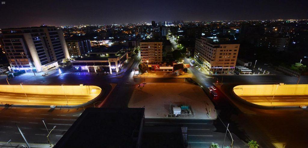 محافظة جدة تشهد التزام المواطنين والمقيمين بتطبيق أمر منع التجول على مدى 24 ساعة