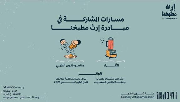 """هيئة فنون الطهي تطلق مبادرة """"إرث مطبخنا"""" لتوثيق الأطباق السعودية"""