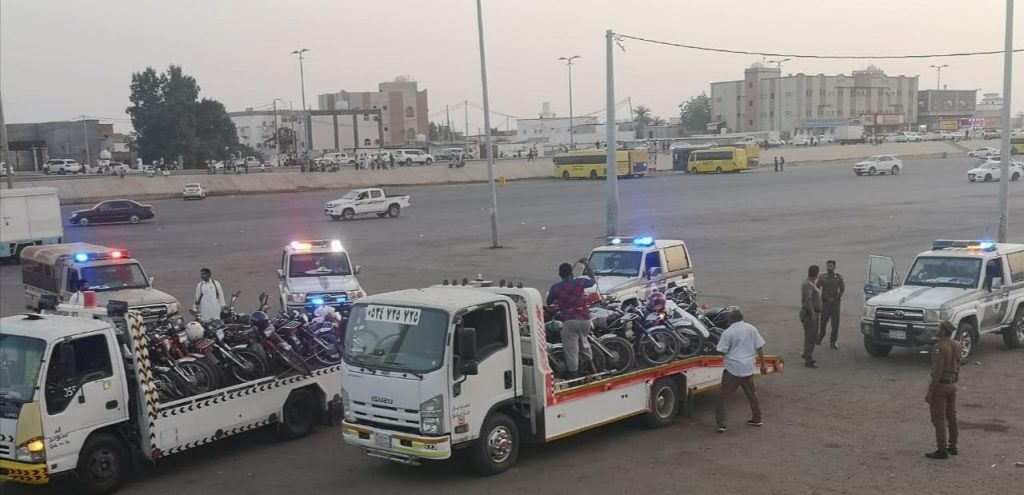 شرطة محافظة صبيا تشن حملة للقبض على مخالفي الدراجات